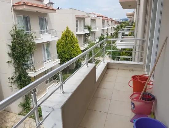 Eine Möblierte Wohnung Mit Pool In Dalaman For Sale, Ein Schnäppchen 2+1
