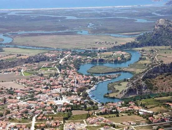 Ortaca, Dalyan Center, 1500 M2, Residential And Hotel Plot Land For Sale