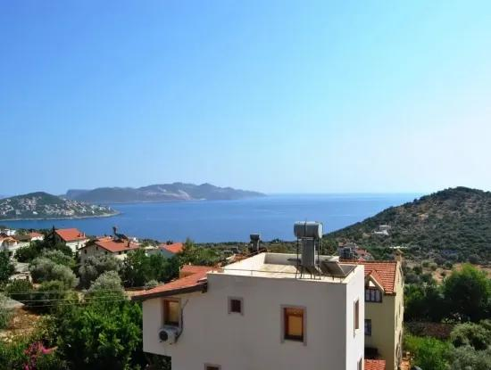 Nov 2 Storey Detached House With Sea Views For Sale In Antalya Gokceoren