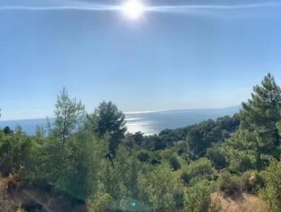 Fethiye Faralyada Satılık Deniz Manzaralı Turizm İmarlı Arsa