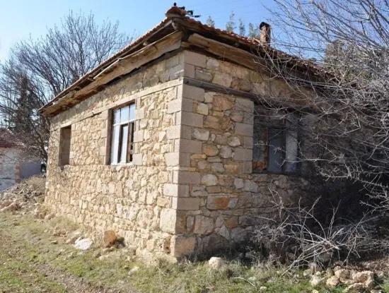 Çameli Gökçeyakada Satılık Veya Takas Taş Ev Ve Arazisi