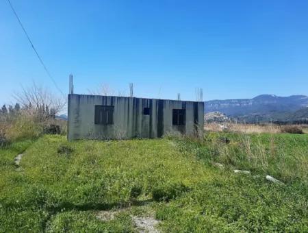 Muğla Dalyanda 3500 M2 Arazide 120 M2 Tek Katlı Müstakil Ev Satılık