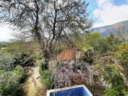 Köyceğiz Toparlarda 1532 M2 Arsada 2 Katlı Ev Ve Eski Köy Evi Satılık
